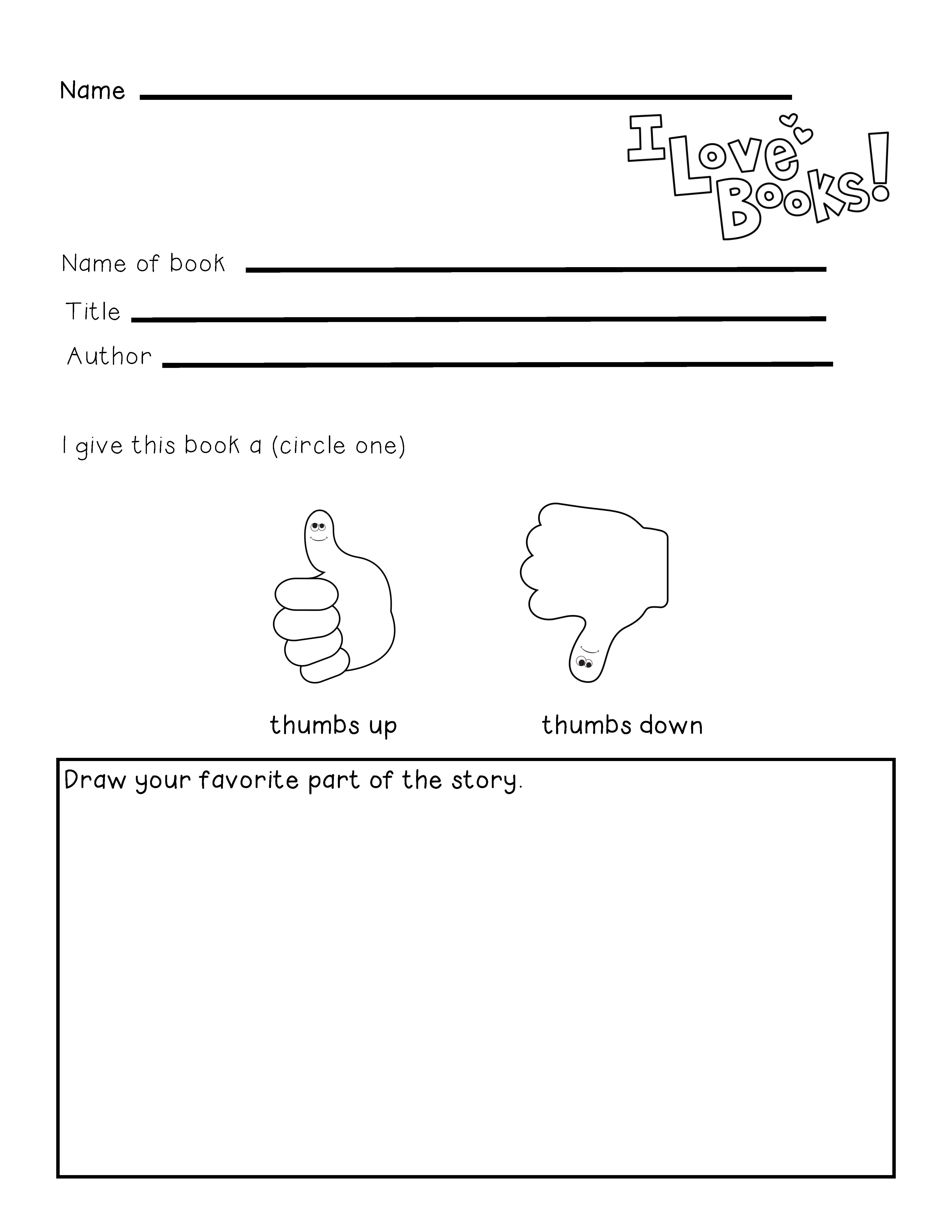 Guided Reading Read to Someone Response Sheet IgnitED – Reading Response Worksheet