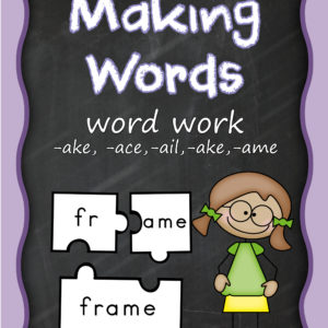 building words 1