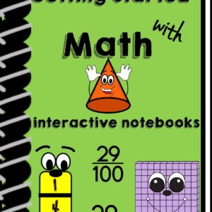 Beginning of Math Interactive Notebook
