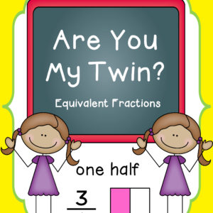 Are You My Twin-equivalent fractions