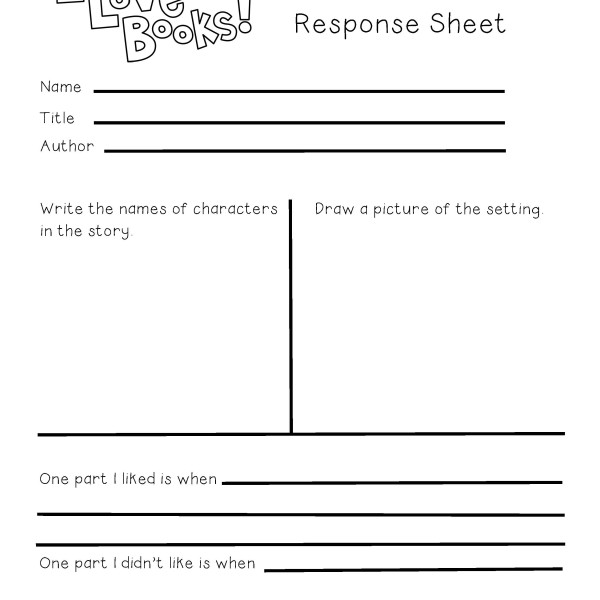 lesson 1 personal response Personal response reflection you must take personal responsibility this character education mini-lesson is not intended to be a service learning lesson or.