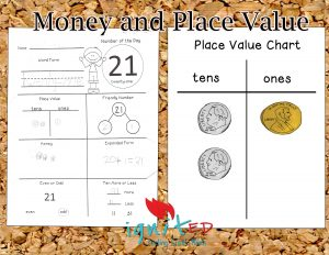 number of the day place value