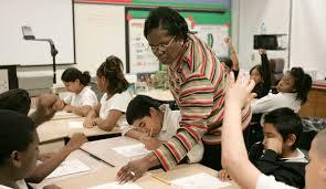 teacher teaching
