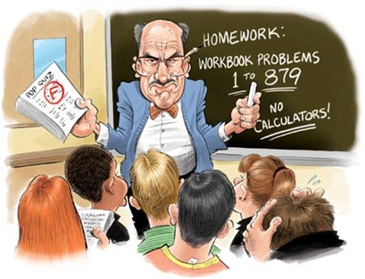 Image result for A negative image of mathematics teachers