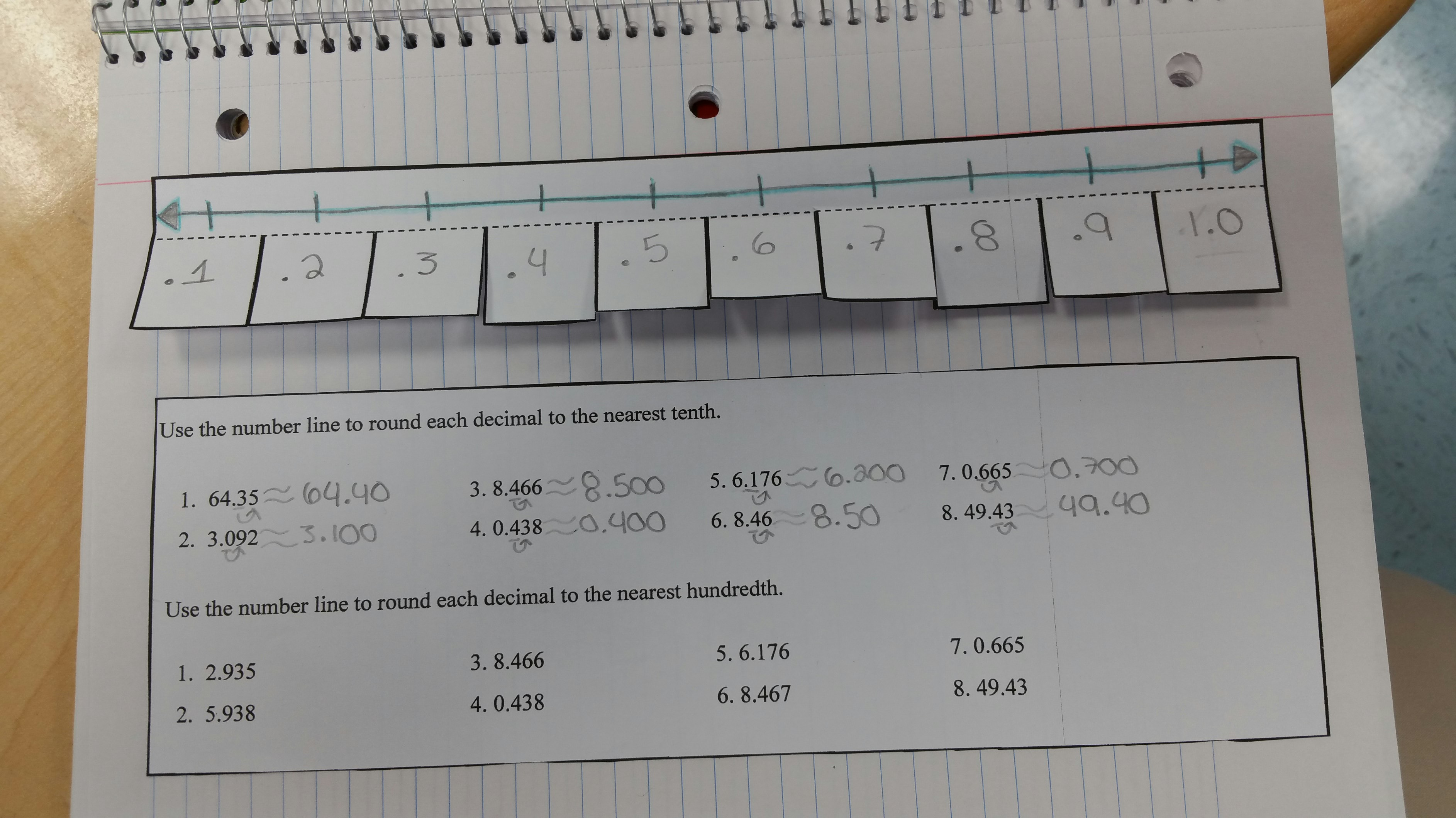 rounding decimals Rounding decimals primary sol 43 the student will b) round decimals to the  nearest whole number, tenth, and hundredth related sol 43a, c, d materials.