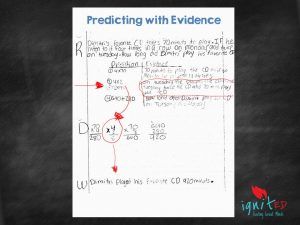 predicting with evidence explanation